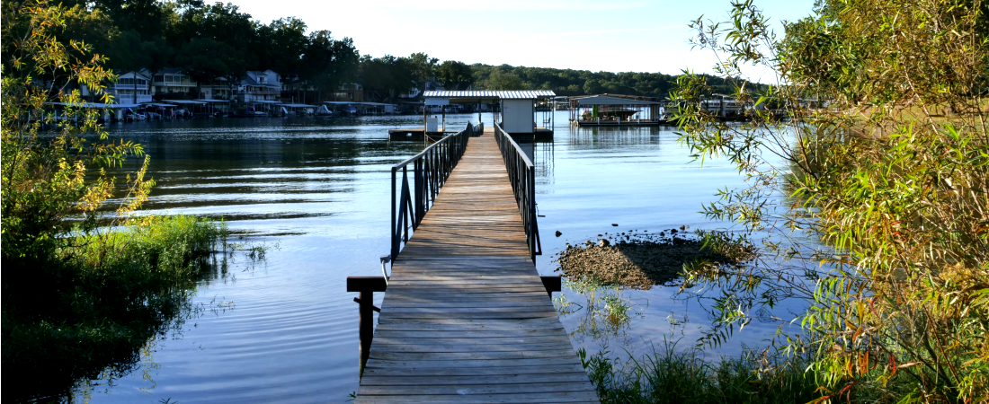 Lake Ozark Vacation Rental Dock